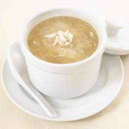 ซุปรังนกเนื้อปู (S)
