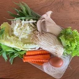ชุดผักจิ้มจุ่ม