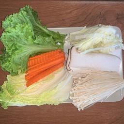 ชุดผักปิ้งย่าง