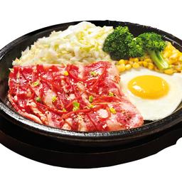 Beef Yakiniku with Egg