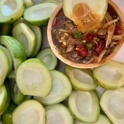 มะม่วงน้ำปลาหวานสูตรโบราณอร่อยที่สุดในพระนคร ( บินหลา )