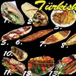 Turkish Doner Kebab and Pizza