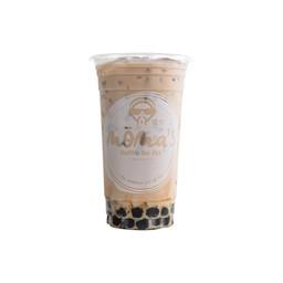 Milk tea with pearls ชานมไข่มุก