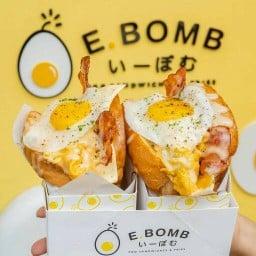 EBOMB Egg Sandwiches & Fries สยามสแควร์ ซอย 3