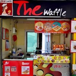 The Waffle พญาไท ทางเดินเชื่อม ARL / BTS พญาไท