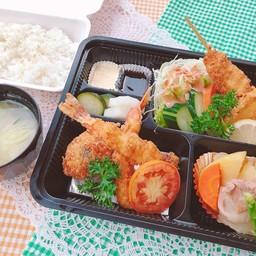 Yo-teishoku (Assorted Fried Food Set meal )