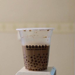 NOBRAND: Milk tea honey pearl