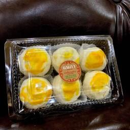 เปี๊ยะ2ไส้ ถั่ว+ไข่เค็ม