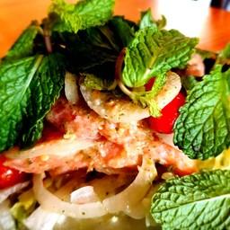 ปลาแซลมอนสดอร่อย น้ำยำแซ่บสะใจ