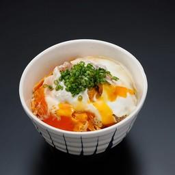 ข้าวไก่ย่างราดไข่โอยาโกะที่เล็ก
