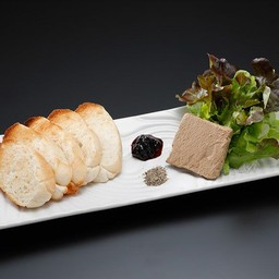 ตับไก่บดกับขนมปัง