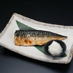 ปลาซาบะย่างถ่าน