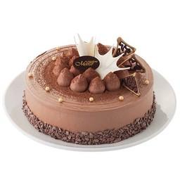 เค้กพรีเมียมดาร์คช็อกโกแลต 6 นิ้ว (1 ปอนด์)
