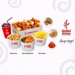GuGu Chicken Korean Crispy Chicken  สามย่านมิตรทาวน์