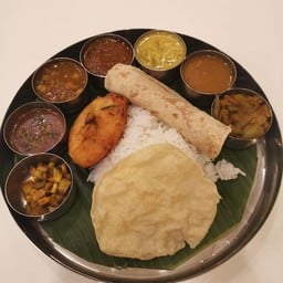 Thali South Indian Style