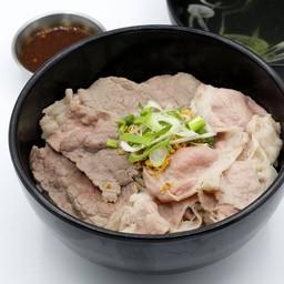 ข้าวต้มเนื้อโคขุน (เนื้อนุ่ม, เนื้อสไลด์) Rice Porridge (tendered beef, sliced brisket)