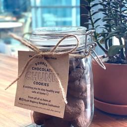 Double Chocolate Chunk Cookies (Jar)