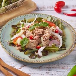 ยำทูน่า Tuna Spicy Salad