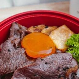 Ducky Grill Concept ร้านอาหารญี่ปุ่น สไตล์ยากินิคุ  สนามบินน้ำ
