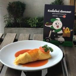 Home restaurant (ข้าวห่อไข่) ศรีย่าน