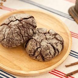 Crinkle Cookie (Gluten free Vegan)