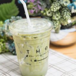 ชาเขียวมัทฉะเย็น (นมถั่วเหลือง)