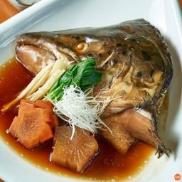 หัวปลาแซลมอนต้มซีอิ๊ม