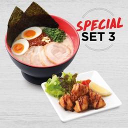 ลดพิเศษ - Lineman Special Set 3 Karaka Special+ Chicken Karaage