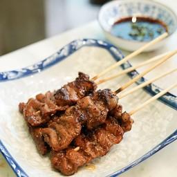 เนื้อย่างไม้เสียบ (5ไม้)