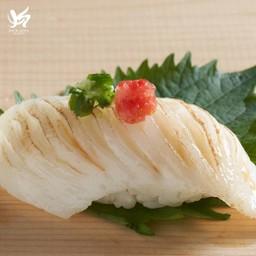 Engawa Sushi ข้าวปั้นหน้าปลาเอ็นกาวะ