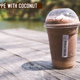 Cocoa Frappe with Coconut