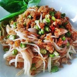 ยำขนมจีนทูน่า