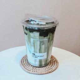 Green - Matcha green tea (Iced)
