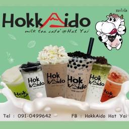 HokkAido milk tea cafe' hatyai
