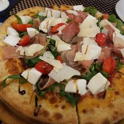 Parma Ham Boconcini Rocket Pizza