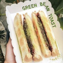 Green Bean Toast