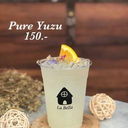 น้ำส้มยูสุแท้100% นำเข้าจากญี่ปุ่น + โซดา