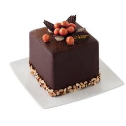 คิวบ์คาโรล่าเค้ก 4x4นิ้ว (1ปอนด์)