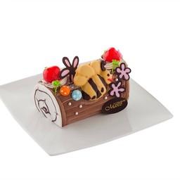 เค้กขอนไม้ช็อกโกแลต