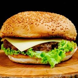 ชีสเบอร์เกอร์เนื้อ