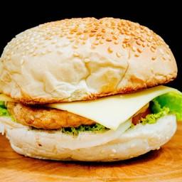 ชีสเบอร์เกอร์ไก่