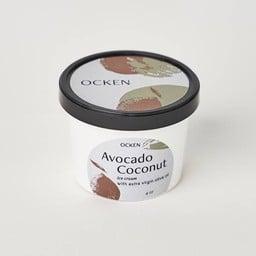 Avocado coconut Ice Cream with extra virgin oilve oil 4oz