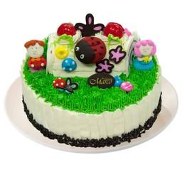 เค้กสวีทตี้ ปาร์ตี้ วนิลา 6 นิ้ว (1 ปอนด์)