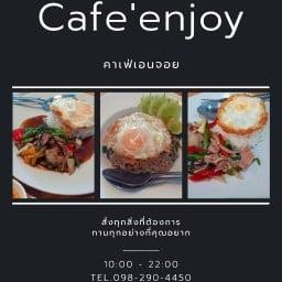Cafe enjoy  แบริ่ง 109