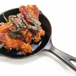 ไก่ทอดเกาหลีซอสเผ็ด