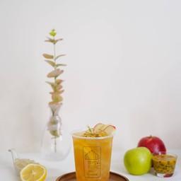 Brown Mixed Fruit Green Tea (Glass)