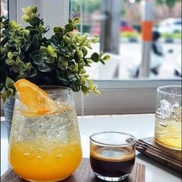 Orange Coffee Soda