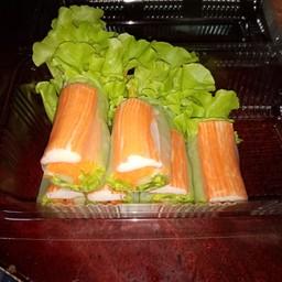 สลัดผัก สลัดโรล