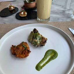 starter อร่อยมากๆ broccoli + chicken