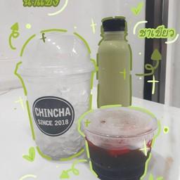 chinchaชานมไข่มุกตักเองสาขาบางปะกอก